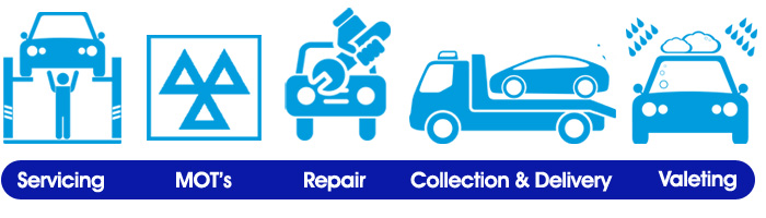 Mercserve Services, Repairs & MOT's